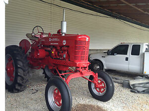 Farmall High Clearance Crop Diesel Antique Tractor Super Mdv Fully Restored Rare