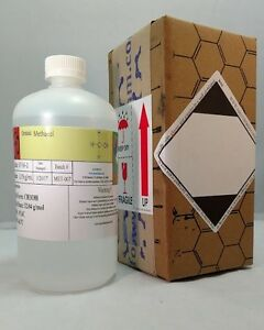 Methanol 3x 32oz Bottles 2880 Ml Msds Included