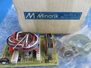 Minarik Sl10u Adjustable Speed Control For Hurst Permanent Magnet 90 Vdc Motors
