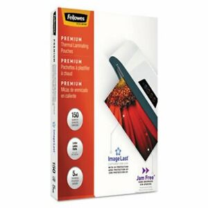 Fellowes Laminating Pouches 5 Mil 11 3 4 X 9 1 2 150 Per Pack fel5204007