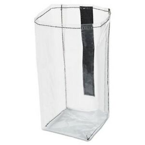 Rubbermaid 1919270 Executive Quick Cart Plastic Pocket Liner Clear rcp1919270