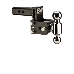 Tow Stow Hitch B W Ts10033b Class 4 2 X 2 5 16 Dual Ball System 3 Drop