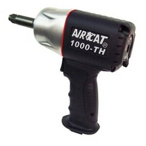 Aircat 1000 th 2 1 2 Drive Composite Impact Wrench With 2 Anvil