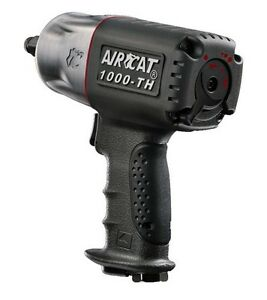 Aircat 1000 th 1 2 Drive Quiet Composite Impact Wrench