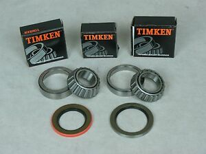 63 82 Corvette Timken Rear Wheel Bearing Race Seal Bearing Kit Inner Outer