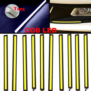 10x Super Bright White Car Cob Led Lights Drl Fog Driving Lamp Waterproof Dc 12v
