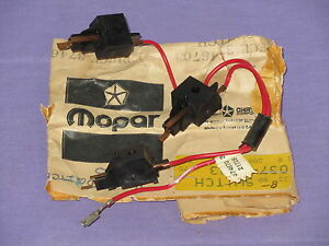 Nos Mopar 1974 1975 Dodge Charger Plymouth Satellite Horn Switch