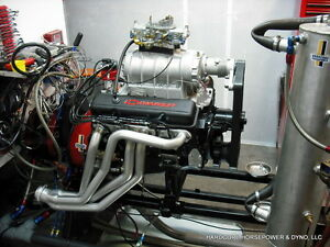 383ci Small Block Chevy Pro Street Engine Blown 575hp Built To Order Dyno Tuned
