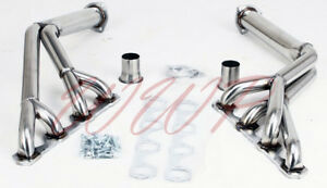 Performance Stainless Steel Exhaust Tri Y Headers 64 70 Ford Mustang Cougar V8
