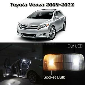 13x Interior Lights Package White Led Bulbs For 2009 2013 Toyota Venza