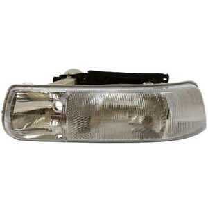 Left Head Lamp Assembly Without Bulb Fits 00 2006 Chevrolet Tahoe Suburban 1500