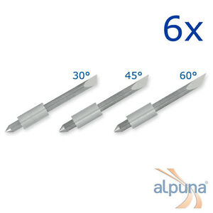 6 Plotters For Graphtec 0 1 16in 30 Alpuna Quality Blades