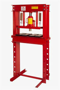 Aff 820a 20 Ton Capacity Hydraulic Shop Floor Press Free Shipping