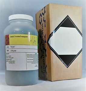 2 Pounds Potassium Permanganate 98 Kmno4 Msds Included