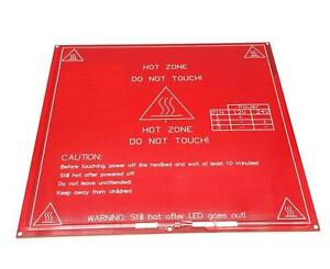 Reprap 3d Printer Pcb Heatbed Mk2b Heat Bed Hot Plate Prusa Mendel 12v 24v New