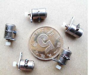 5pcs Dc Micro Digital Camera Stepper Motor 6x5 5mm With Copper Gear