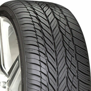 4 New 235 55 17 Vogue Signature V Black 55r R17 Tires 29744