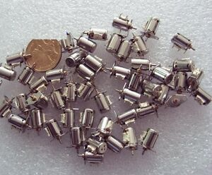 10pcs 6mm 2 Phase 4 Wire Micro stepping Motor Canon With A Small Plastic Gear
