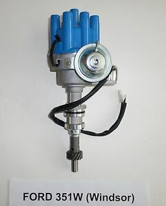 Small Block Ford 351w windsor Blue Female Small Cap Hei Distributor Electronic