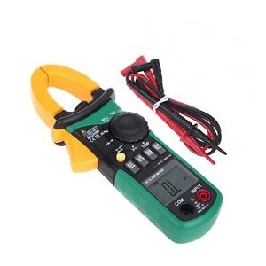 Mastech Ms2008b Digital Clamp Handhold Meter mini 600a Large Jaw 26mm 600v
