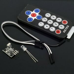 Infrared Wireless Remote Control Kits For Arduino Avr Pic