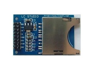Sd Card Module Slot Socket Reader For Arduino Arm Mcu Read And Write