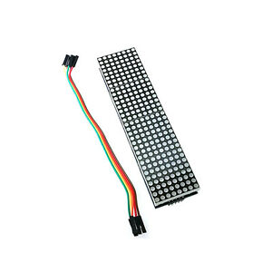 5pcs Max7219 Dot Matrix Module Arduino Microcontroller Module 4 In One Display N