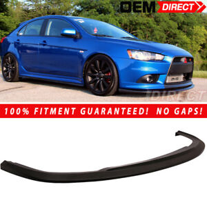 For 09 15 Mitsubishi 9g Lancer Front Lip Splitter For R Models