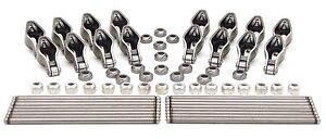 Comp Cams 1 52 3 8 Roller Rocker Arms Pushrods Set 1987 Later Chevrolet Sbc