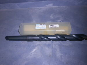 Greenfield Taper Shank Drill 1 31 64 X 17 1 2 Heavy Duty Hss Xl 51652
