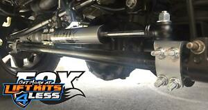 Fox 2 0 Ifp Dual Steering Stabilizer For Lift Kits For 07 18 Jeep Wrangler Jk
