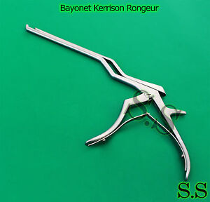Bayonet Kerrison Rongeurs 45 Up 5mm Surgical Instruments