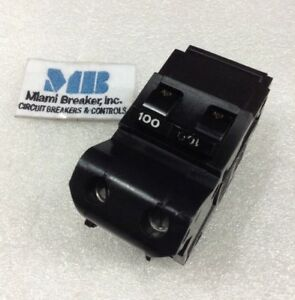 2p100 Federal Pacific 2 Pole 100 Amp 240 Volt Circuit Breaker 2 Year Warranty
