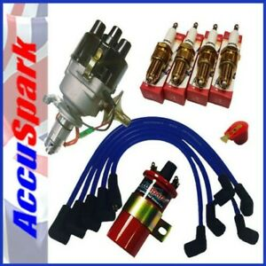 Mgb Electronic Distributor And Ignition Upgrade Pack A With Blue Leads