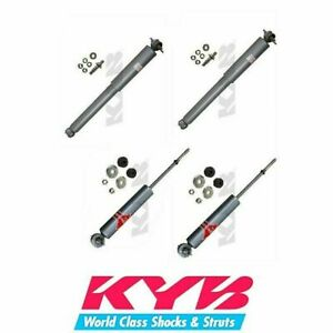 4 Shock Absorber Kyb Gas a just 2 front 2 rear Fits Avanti Ii Buick Century
