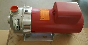 New 2016 Goulds Npe Fire Pump Residential Red 2st1h1a4fp 3hp 1ph 230v 13d