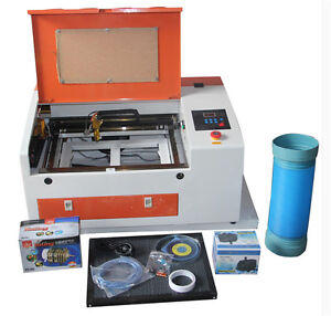Upgraded Version Co2 60w 110 220v Laser Engraving Cutting Machine With Usb Port