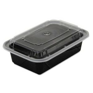 24 oz Versatainer Rectangular food Containers 150 Containers pac Nc838b