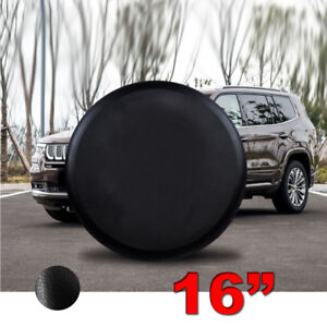 16 Inch Spare Tire Cover Wheel Cover Fit For Suzuki Hummer Jeep Ford Land Rove