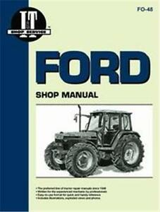 Ford 5640 6640 7740 7840 8240 8340 Tractor I t Shop Manual Fo48