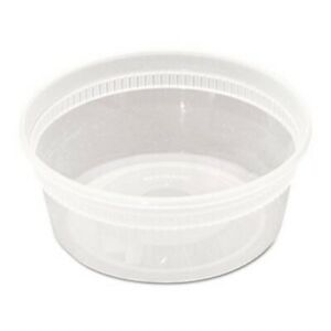 Pactiv Delitainer Microwavable 8 oz Food Container 240 carton pctyl2508