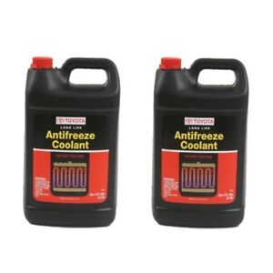 2 Gallons Antifreeze Coolant Genuine Toyota red Color Long Life 002721llac