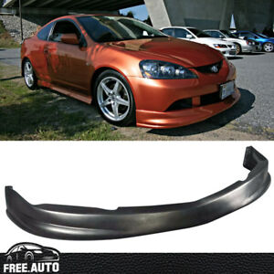 Fit For 05 06 Acura Rsx Coupe Front Bumper Lip Pu Material Dc5 P1