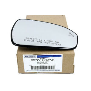 Oem New Ford Fusion Right Passenger Side View Mirror Glass Blind Spot Detection