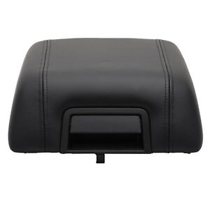 Oem New Center Console Arm Rest Lid Cover Pad Black Leather 2004 2008 Ford F 150