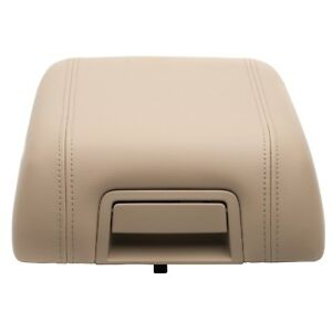 Oem New Center Console Arm Rest Lid Cover Pebble Tan Leather 04 08 Ford F150