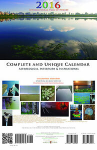 2016 Calendar Complete Unique Astrology Interfaith Inspiration Photography