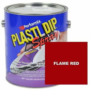 Plasti Dip Classic Muscle 1 Gallon Can Ready To Spray Matte Flame Red