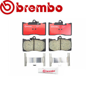Front Disc Brake Pads Brembo P83072n Fits Lexus Gs350 Gs430 Gs450h Is250