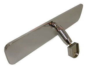 Hot Rod Rat Rod Chevy Classic Car Or Truck Universal Chrome Rear View Mirror